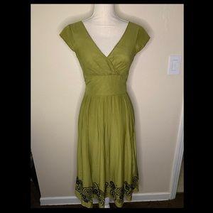 Jones New York Vintage 1950s Style Dress